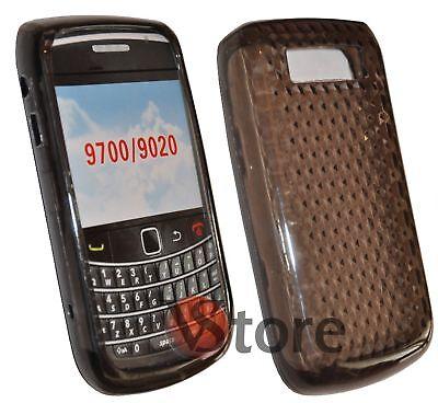 9700 Cover (Cover Custodia Gel TPU Nero Per BLACKBERRY 9700 BOLD silicone)