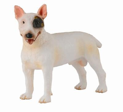 CollectA NEW * Bull Terrier * 88384 Dog Breyer Figure Toy Replica
