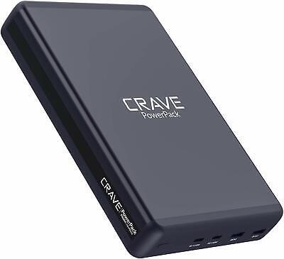 Crave CRVPP102 Power Bank 3.0 USB-C 50000mAh PowerPack Portable Battery Charger