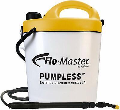 Flo-Master 5BPL Pumpless 1.3 Gallon Battery Powered Garden Sprayer Rechargeable Gallon Power Sprayer