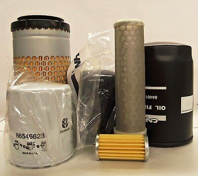 New Holland Tc18 Tc21 Tc21d Hydrostatic Compact Tractor Filter Service Kit