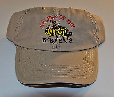 Beekeeper Cap Keeper Of The Bees Free Shipping