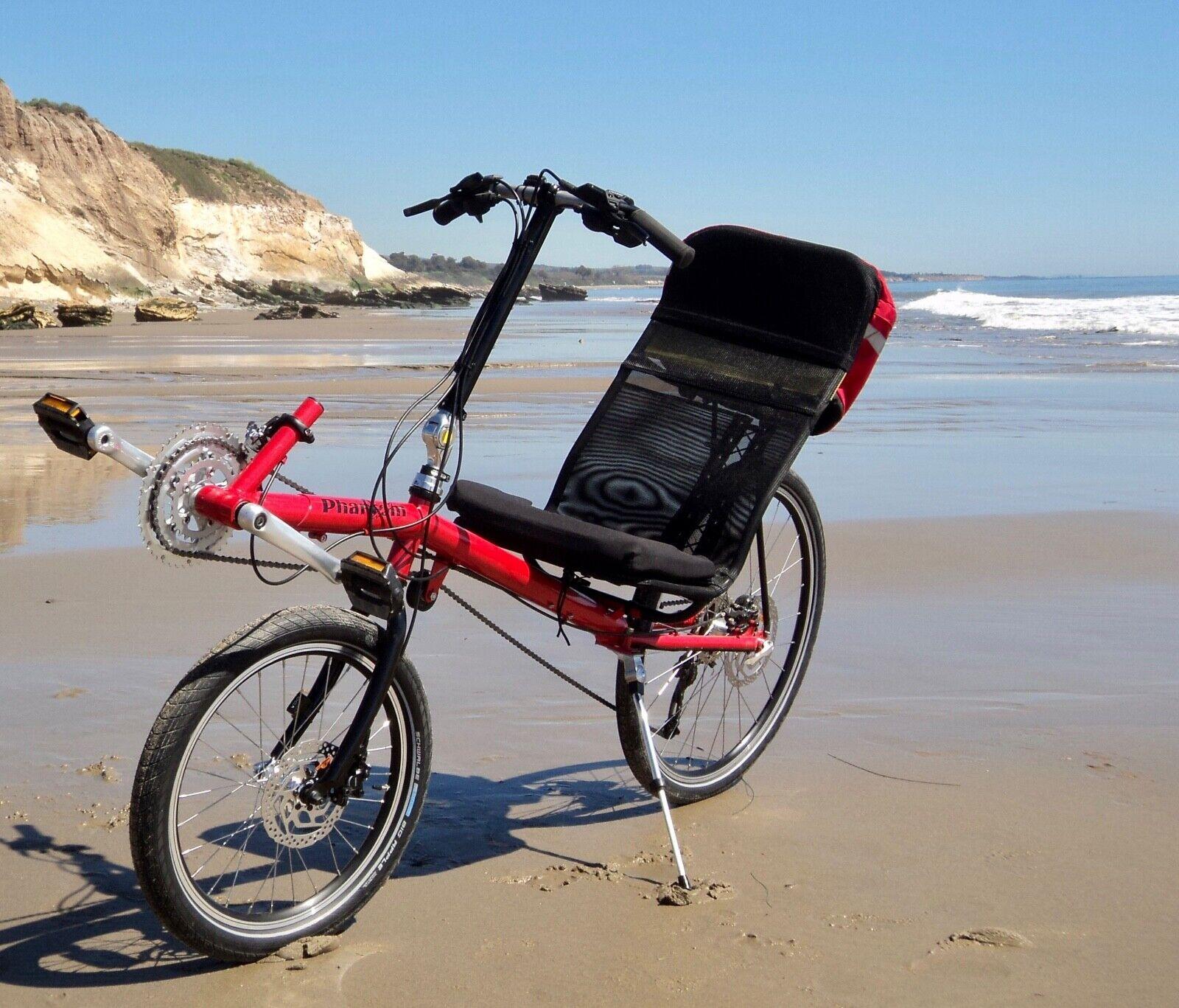NEW 2019 Lightning Phantom D recumbent bike, affordable high
