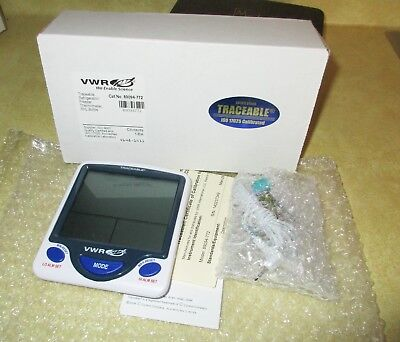 Vwr Traceable Digital Thermometer 89094-772 With Probe - Nib