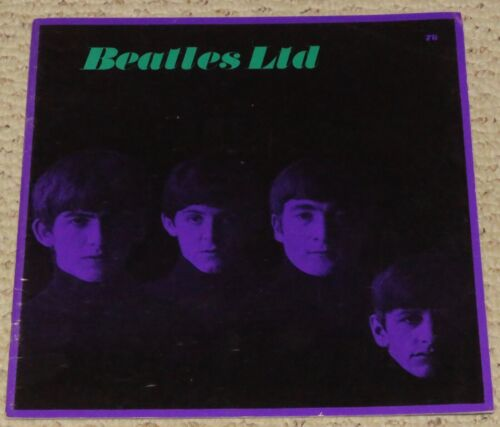 1964 The Beatles Original concert program USA Tour Book Nice not Paged Through