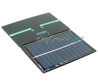 6V 100mA 0.6W Polycrystalline Mini Epoxy Solar Platte Photovoltaic Platte