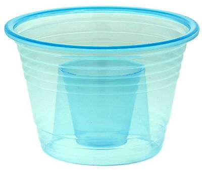 1000 Blue Power Bomber Plastic Shot Cups Party Bombers Jager Bomb Shot Glasses
