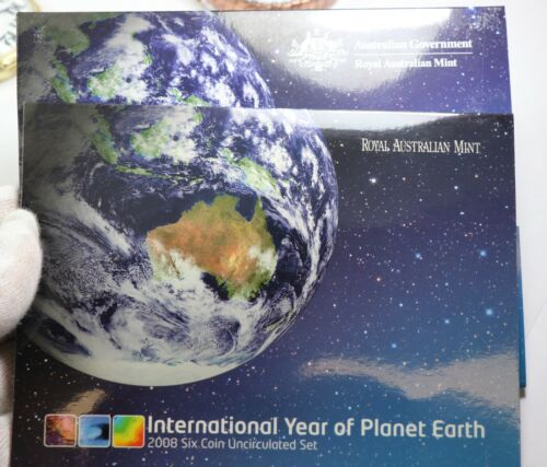 2008 Australia Six Coin Uncirculated International Year of Planet Earth Set