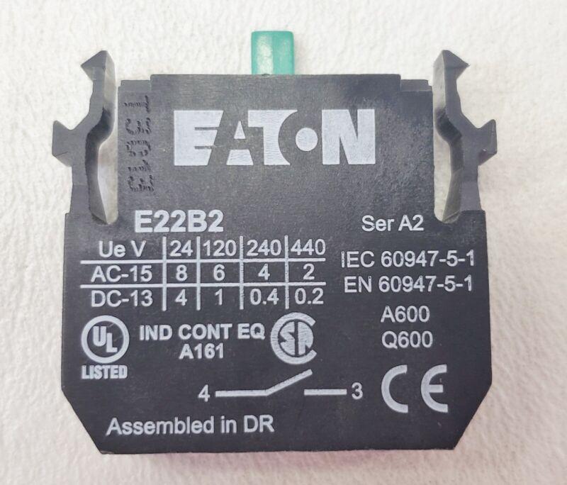 10 New Eaton E22B2 Switch Part Contact Blocks
