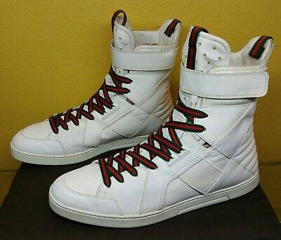 ce36e8c5c Authentic Gucci shoes mens 283083 size 9.5g 10.5u.s, Gucci sneakers mens  white