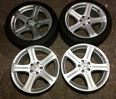 4 Felgen Satz Mercedes CLS 18Zoll A2194010102 8,5Jx18H2 / A2194010302 9,5Jx18H2