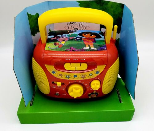 NICKtronics DORA mini boombox cassette player with FM Radio
