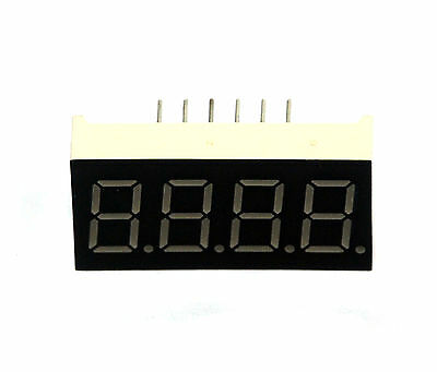 5pc 0.36 7 Segment Four Digit Lf0365g Color Green Led Display Cc Lenoo Taiwan