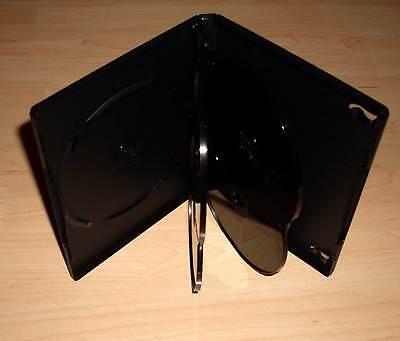 DVD Hülle Case Cases 5fach 5er DVDhülle Hülle Rückenbreite 15mm für 5 DVDs Neu