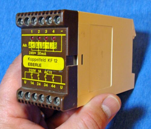 Eberle Koppelfeld KF12 Safety Relay Interlock 24VDC Electronic Industrial