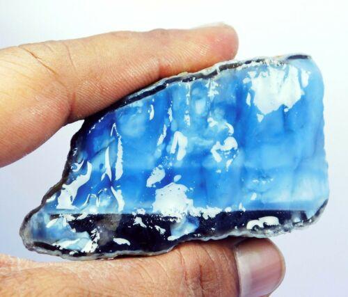 702 Ct Natural Australian Blue Opal Rough Specimen AAA Quality Gemstone