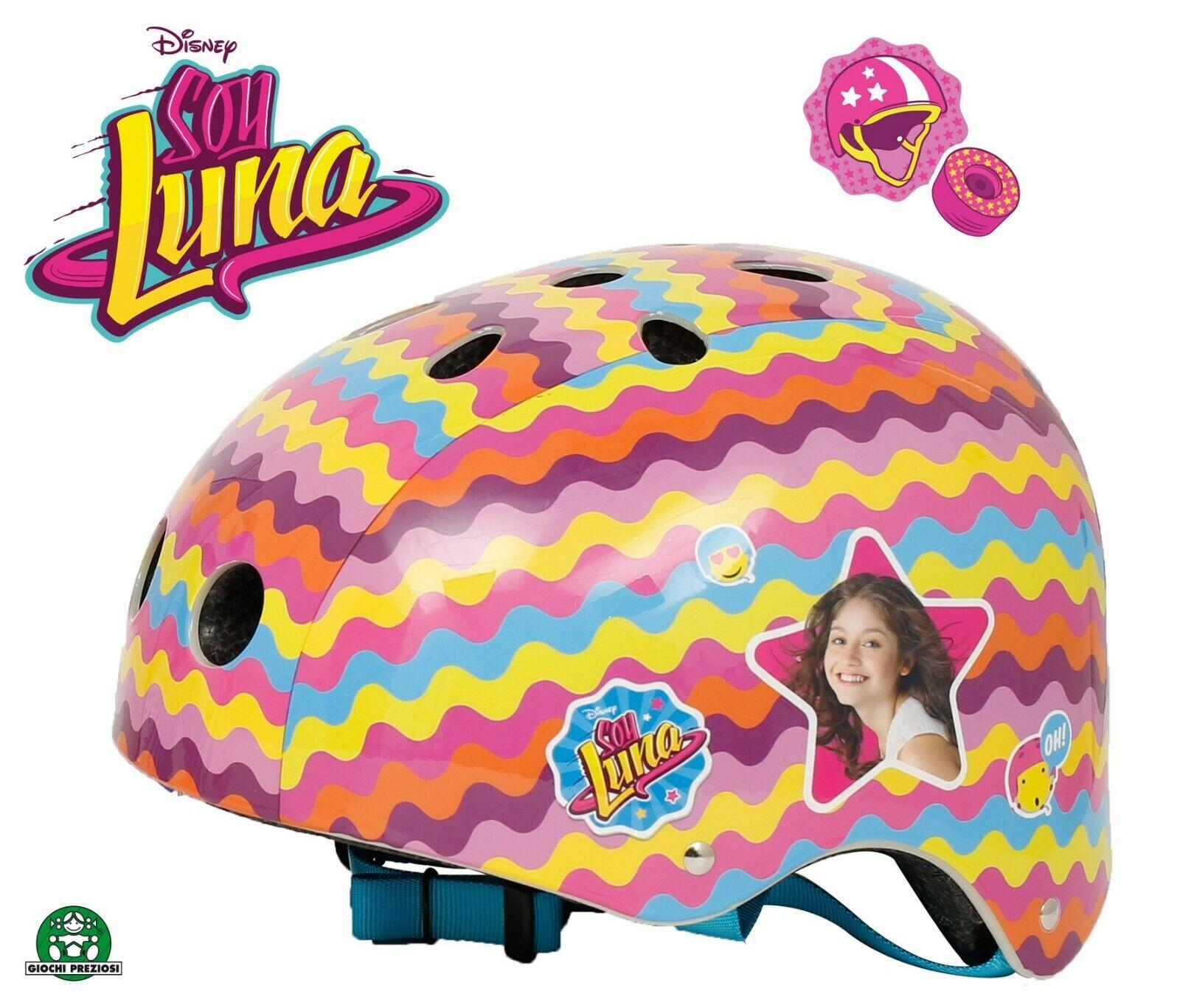 Disney Soy Luna Kinder Helm Rollerskates Fahrrad Inliner Rollschuhe Skate Roller