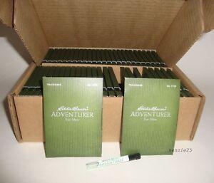 EDDIE BAUER ADVENTURER 50 PACK CARD SAMPLE VIAL COLOGNE EDT (TOTAL=50ml / 1.7oz)