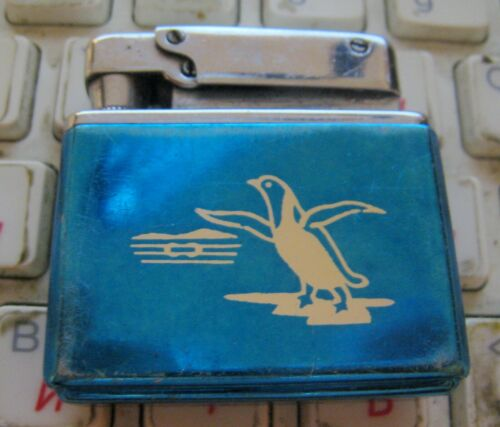 VINTAGE NON BRANDED PENGUIN LIGHTER NO FLUID MADE IN CHINA