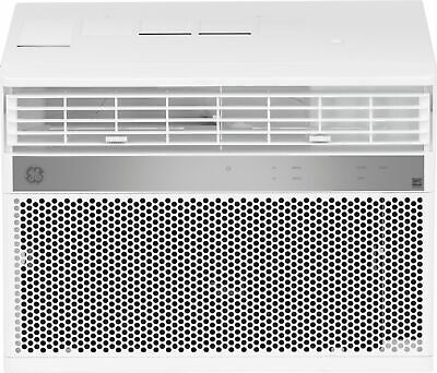 GE - 350 Sq. Ft. 8,000 BTU Smart Window Air Conditioner - Wh