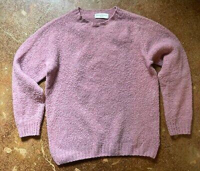 Officine Generale - Shetland Wool Sweater - Men - Pink Retails $385