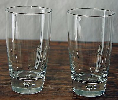 - Bormioli Rocco Pair of Highball Beer Bubble Cooler Glasses 5.75