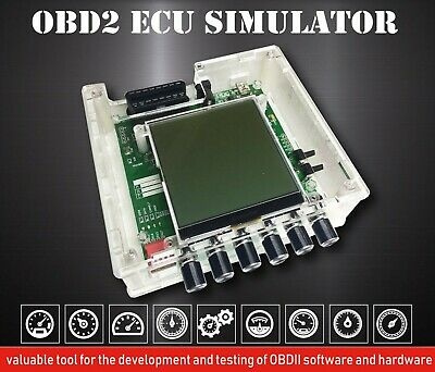 OBD-II ECU simulator ISO15765 ISO9141-2 ISO14230 can bus