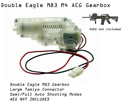 DE Double Eagle M83A2 M83 Replacement Gearbox for Airsoft AEG m4/m16 Rifle 2 Airsoft M16 Rifles