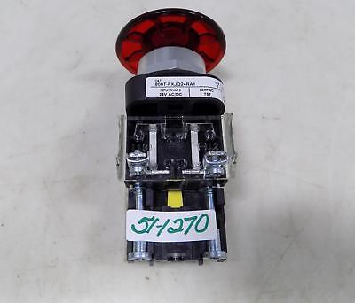 Allen Bradley Red E-stop Button 800t-fxjq24ra1 Series T Pzf