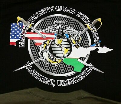Marine Security Guard Detachment Tashkent T-shirt