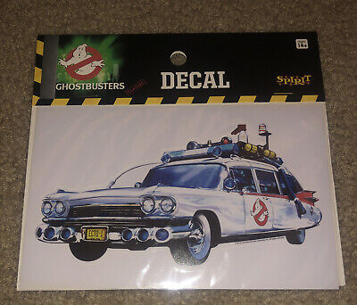 Ghostbusters Classic Ecto-1 Car Decal Halloween For Computer Flat Surfaces