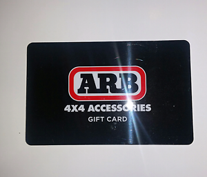 A.R.B GIFT CARD  $100 VALUE Berkeley Vale Wyong Area Preview