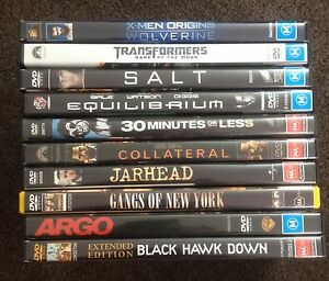 DVD Movies $5 each Haberfield Ashfield Area Preview