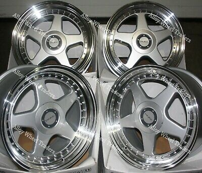 """17"""" SP F5 Alloy Wheels Fit Audi 90 100 80 Coupe Cabriolet Saab 900 9000 4x108"""