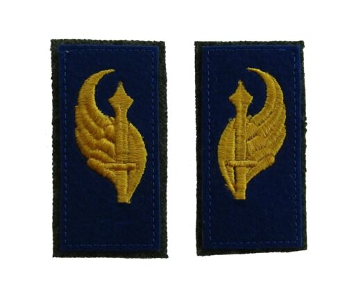 Italian WW2 enlisted ranks parachute Collar Tabs