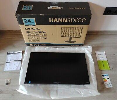 HANNspree HP248PJB - 24  FullHD LED Monitor - HDMI, Displayport (DP), VGA - TOP