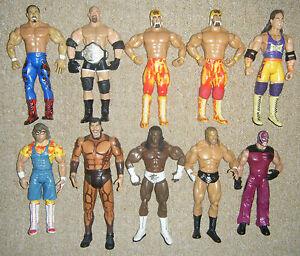 WWE-ACTION-WRESTLING-FIGURE-CLASSIC-DELUXE-SERIES-JAKKS-LEGNEDS-TNA-WWF-MATTEL