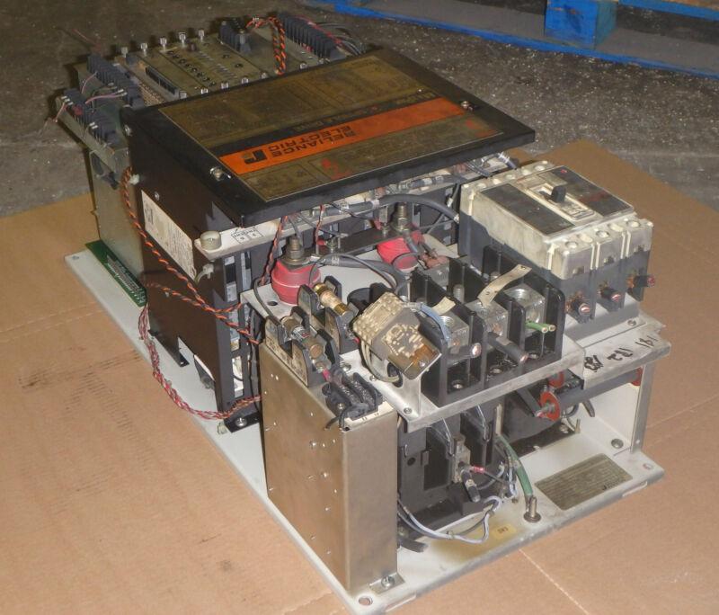 25 HP Reliance Max Pak Plus VS Spindle Drive, M/N 801429-21TC _ W/D 103785-91
