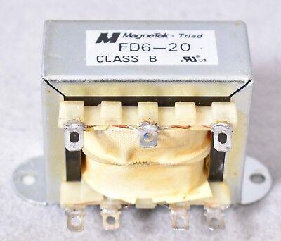 Magnetek Triad Transformer Class B Fd6-20