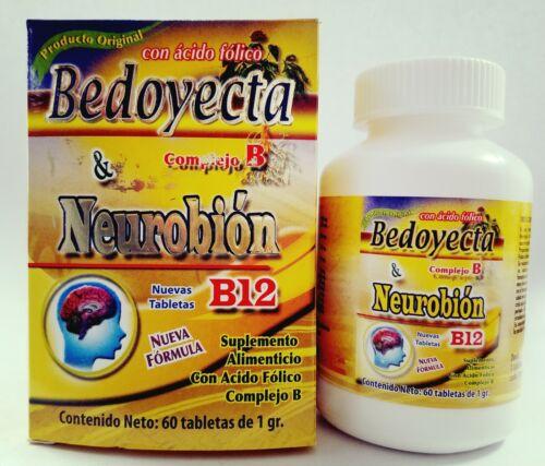 BEDOYEC & NEUROBION 2 EN 1 60 tabs reforzed ACIDO HIALURONIC complex B B12