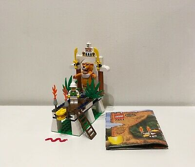 Lego 7411 Tygurah's Roar Adventurers Orient Expedition 100% Complete