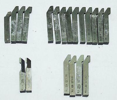 20x Maschinenstrehler Strehler 8x8 mm - metrisch 60° ISO - 0,35/0,75/1,0/1,25