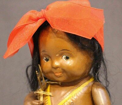 SELDOM SEEN  'BABY  BUD'  by EFFANBEE as a HULA  DANCER