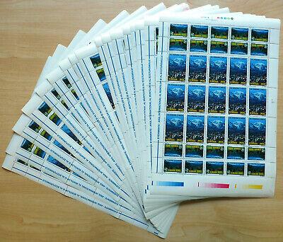 20 komplette Bogen Rumänien Romania 2002 Mi. 5664-65 ** MNH Jahr der Berge  /xy