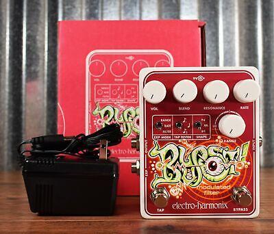 Electro-Harmonix EHX Blurst Modulated Filter Guitar Effect Pedal Demo