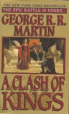GAME OF THRONES-A CLASH OF KINGS-GEORGE R.R. MARTIN-BOOK 2-SONG OF ICE AND FIRE