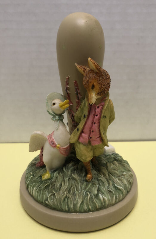 """BEATRIX POTTER Cookie Stamp Press & Recipes - """"Jemima Puddle Duck""""  - w/tag"""