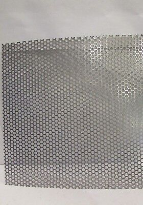 14holes On 516center--20 Ga.12 X 10-12 Ga Stainless Perforated Sheet
