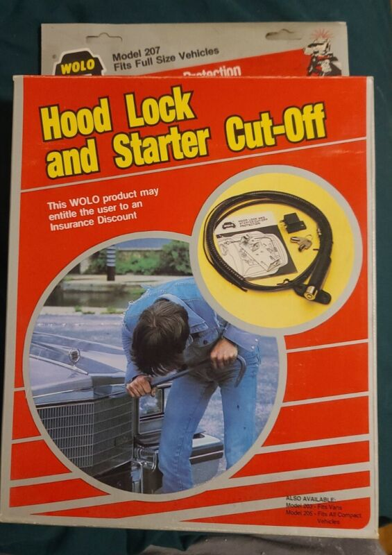 Wolo Hood Lock And Starter Cut-Off Protection #207