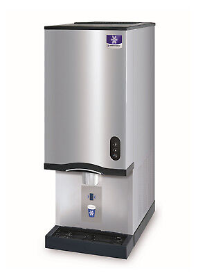 Manitowoc Cnf-0202a 315lb Countertop Air Cooled Nugget Ice Makerwater Dispenser